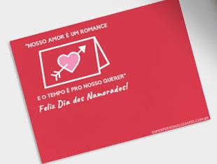 Cartões para imprimir de Dia dos Namorados
