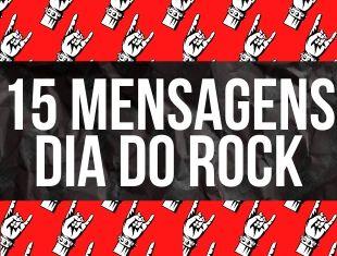 Mensagens para o Dia do Rock