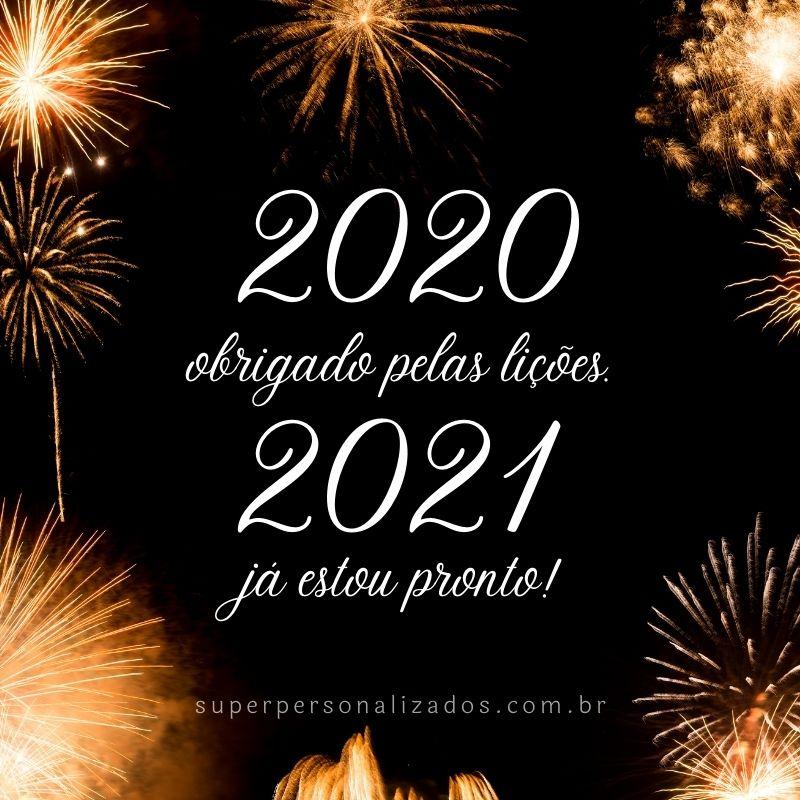 Mensagem para desejar Feliz Ano Novo