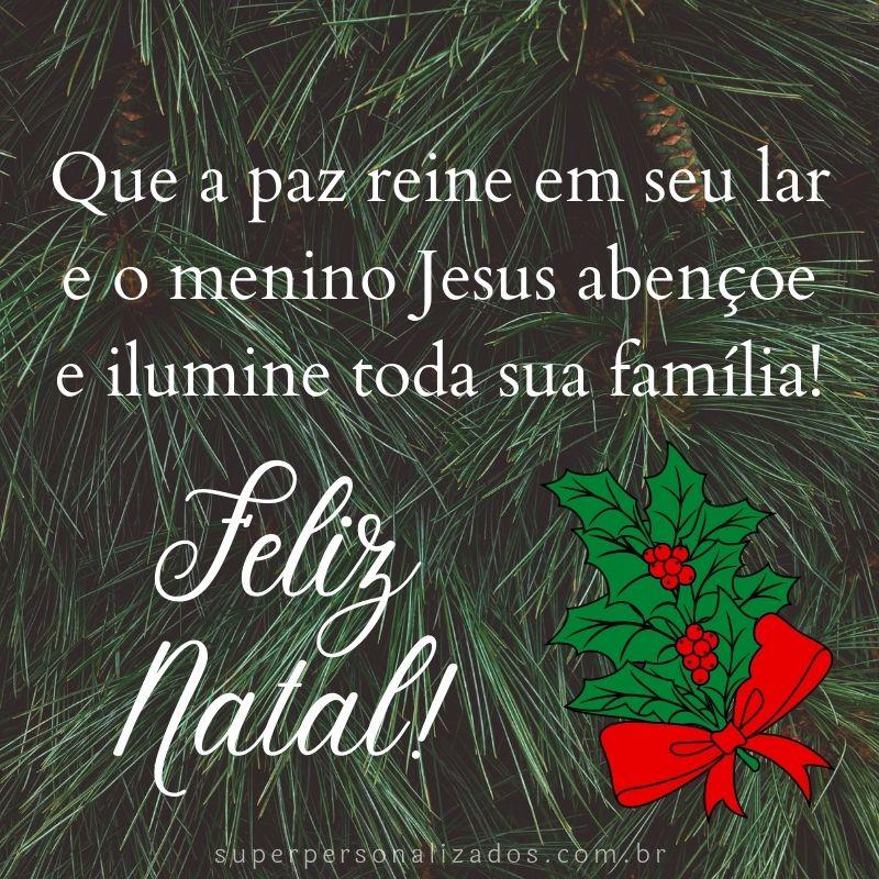 Frase para compartilhar no Natal