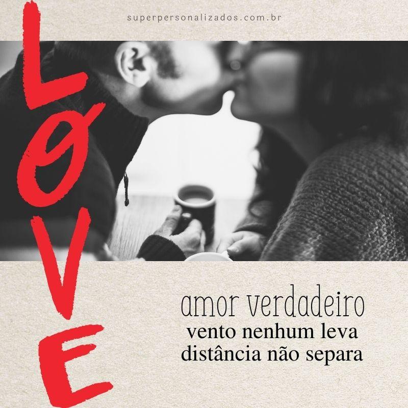 Imagem com mensagem de amor