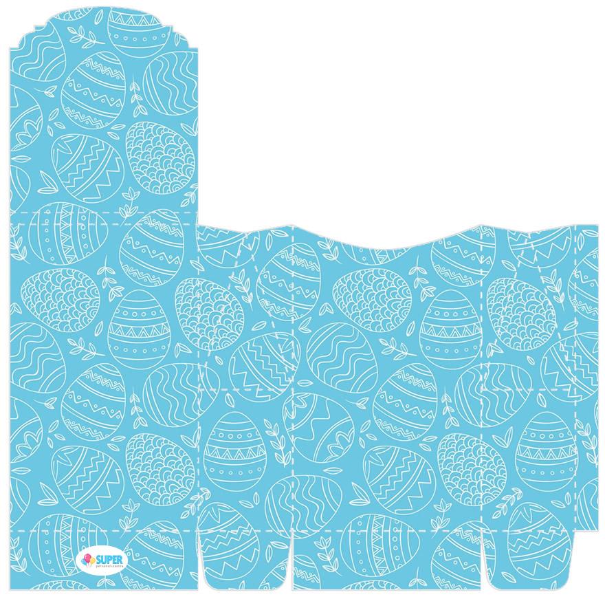 Sacolinha de papel para Kit Festa de Páscoa
