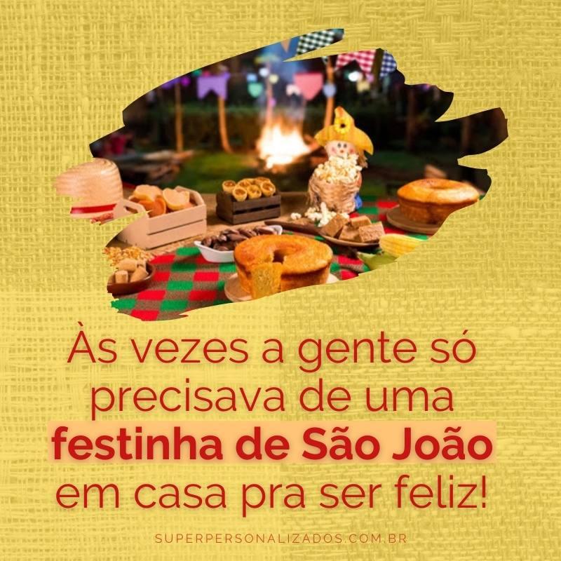 Mensagem linda para São João