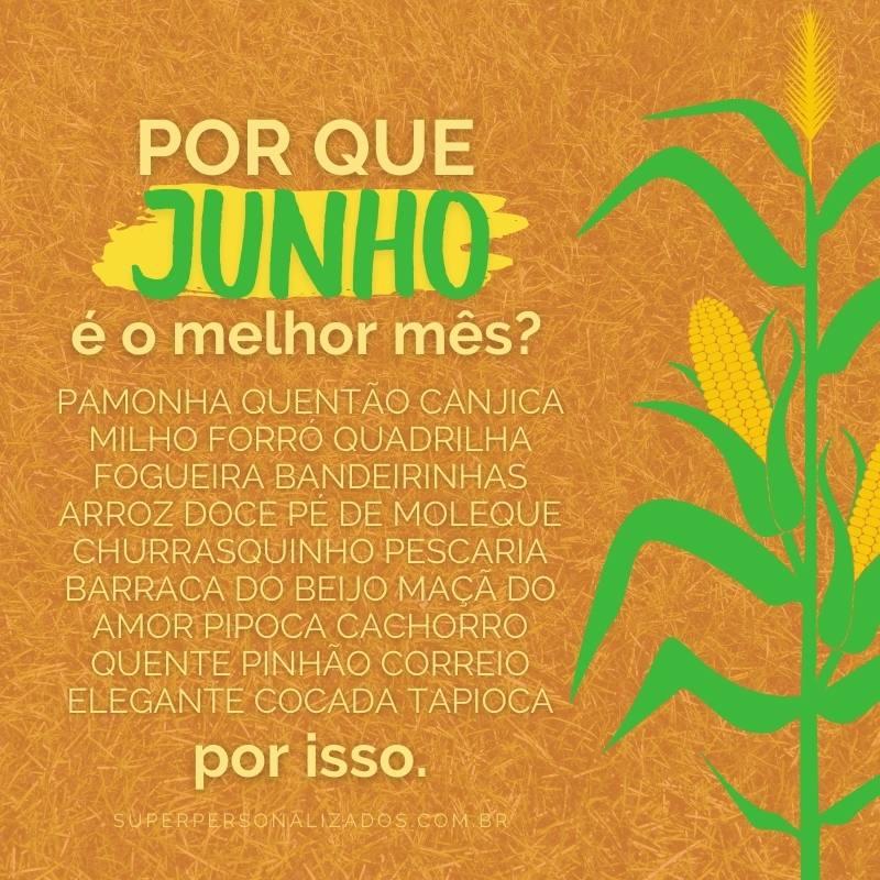 Mensagens de Festa Junina