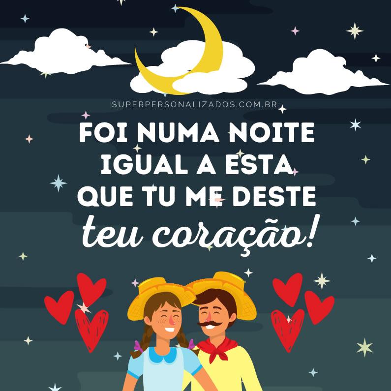 Mensagem para São João