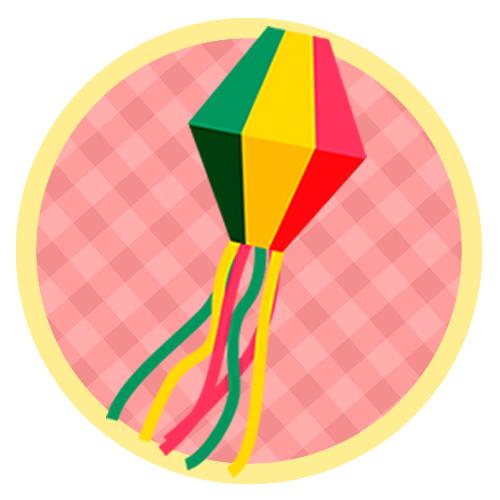 Topo de bolo para Festa Junina