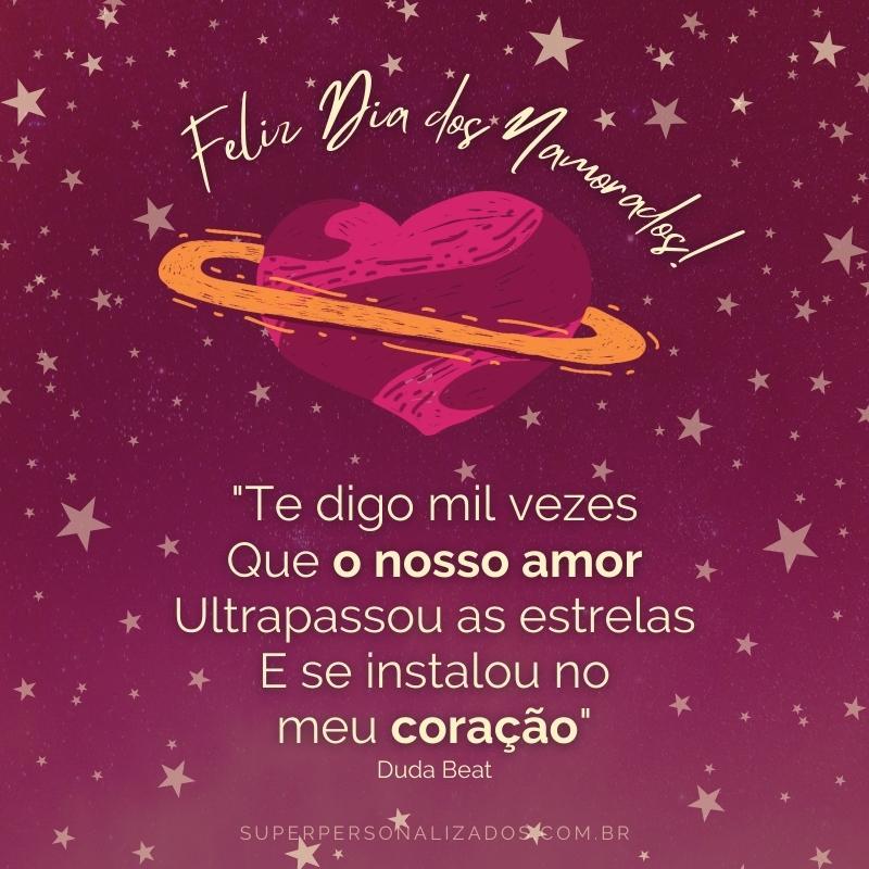 Dia dos Namorados - Mensagem